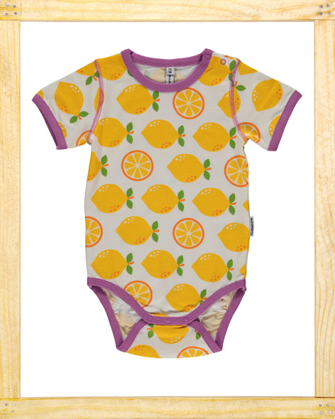 Maxomorra romper Lemon