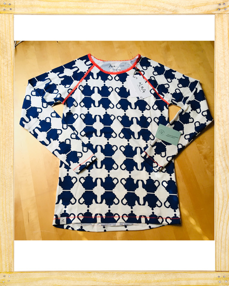 Albalady AiA Blouse Solidate Blue