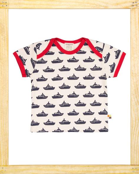 Loud&Proud T-shirt Boot navy