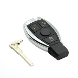 contactsleutel geschikt voor mercedes benz auto sleutel 3 Knoppen Smart Remote Key voor Mercedes Benz met NEC Chip 315 MHz  Ondersteunt Auto Modellen Na 2000