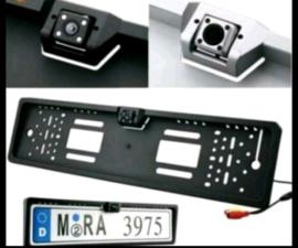 Kentekenplaat houder met achteruitrijcamera HD