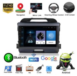 "9 ""HD android 9.0 auto dvd-speler voor KIA sportage 2010-2015"