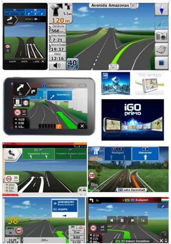 igo primo navigatie met flitspalen voor windows autoradio's