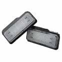 Kentekenplaatverlichting passend voor mercedes W203 W211 W219 6000k superfel! kenteken verlichting 9