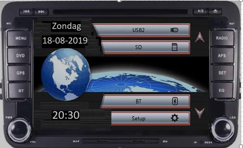radio navigatie rns 510 look passend voor seat vw skoda GRATIS Camera en microfoon! nederlands menu en taal