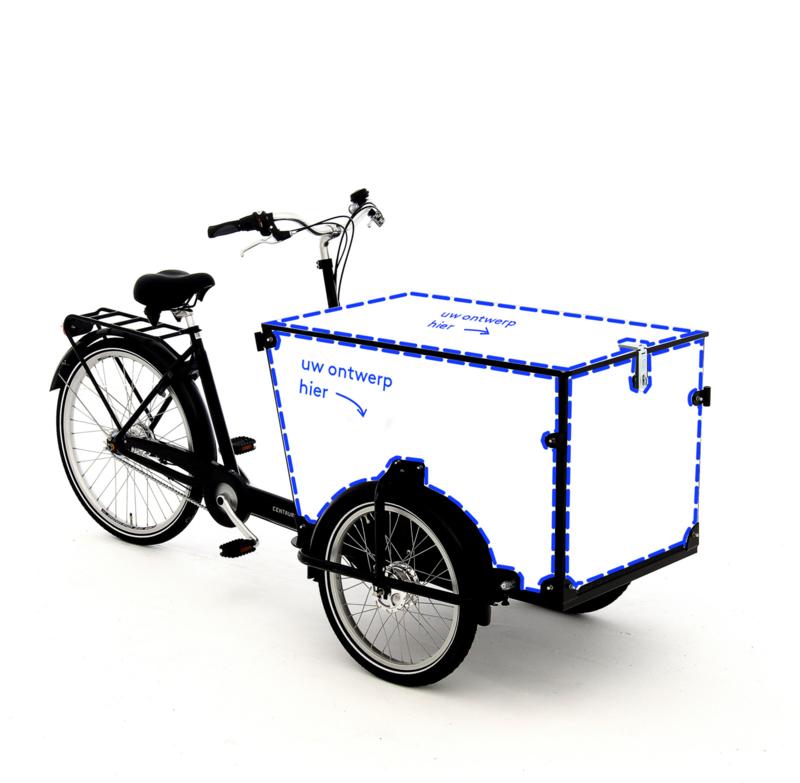 Babboe Transporter / Babboe Pro Trike Zwart