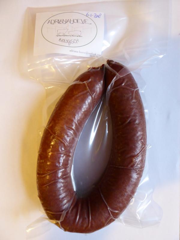 Rookworst varken ca 300 gr