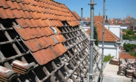 """35-056  Roof tiles """"old dutch type"""""""