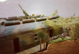 35-033 L 401 Geschützstand für 8,8 oder 10,5 cm Flak