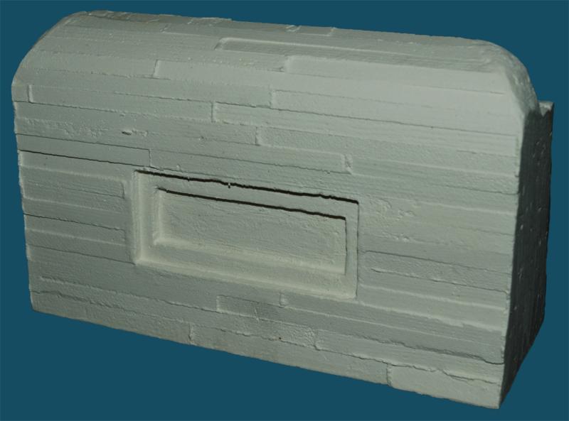 35-013 fake MG nest Panzerabwehrmauern