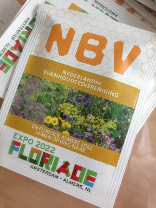 Biologisch bloemenzaad (50 zakjes)