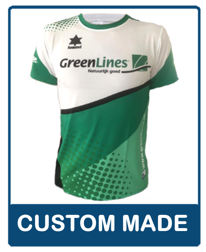 custom made teamkleding knop