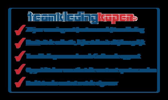 waarom kiezen voor teamkledingkopen.nl