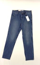 Ornella blauw streep