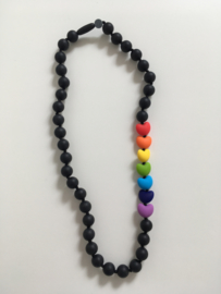 Rainbow Love Black