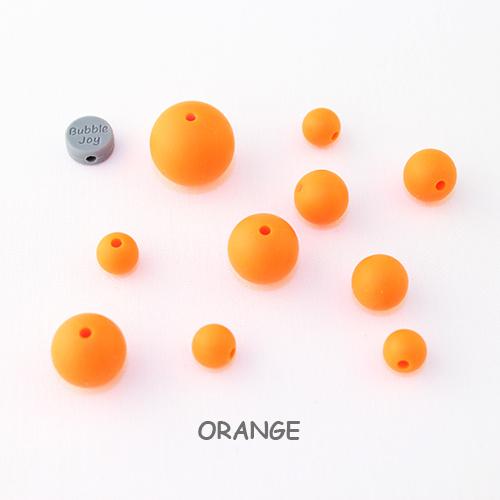 Ronde Oranje Kralen