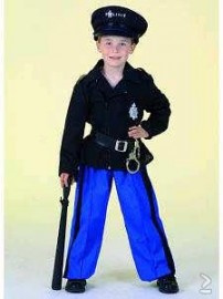 Politie uniform donker blauw