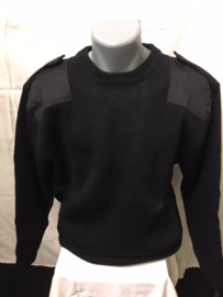 Commando trui Zwart