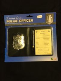 Politie bonnenboekje luxe