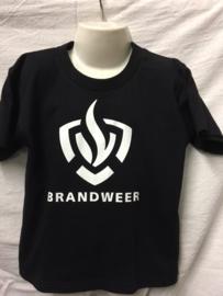 T-shirt met Brandweer logo