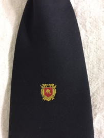 Stropdas met Brandweer logo Navy