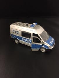 Politie bus Duits
