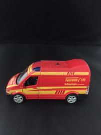 Brandweer bus Duits Rood