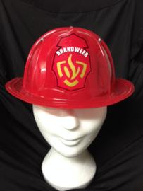 Brandweerhelm met logo