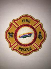 Embleem Brandweer Kaapstad Zuid Africa