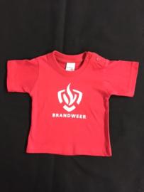 T-Shirt met Brandweerlogo korte mouw