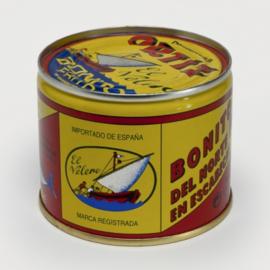 Bonito del Norte flakes in zonnebloemolie 1750g