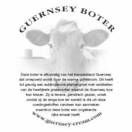 Botervelletjes voor Guernsey roomboter