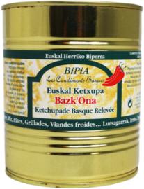 Bask'Ona-Ketchupade relevee 800gr