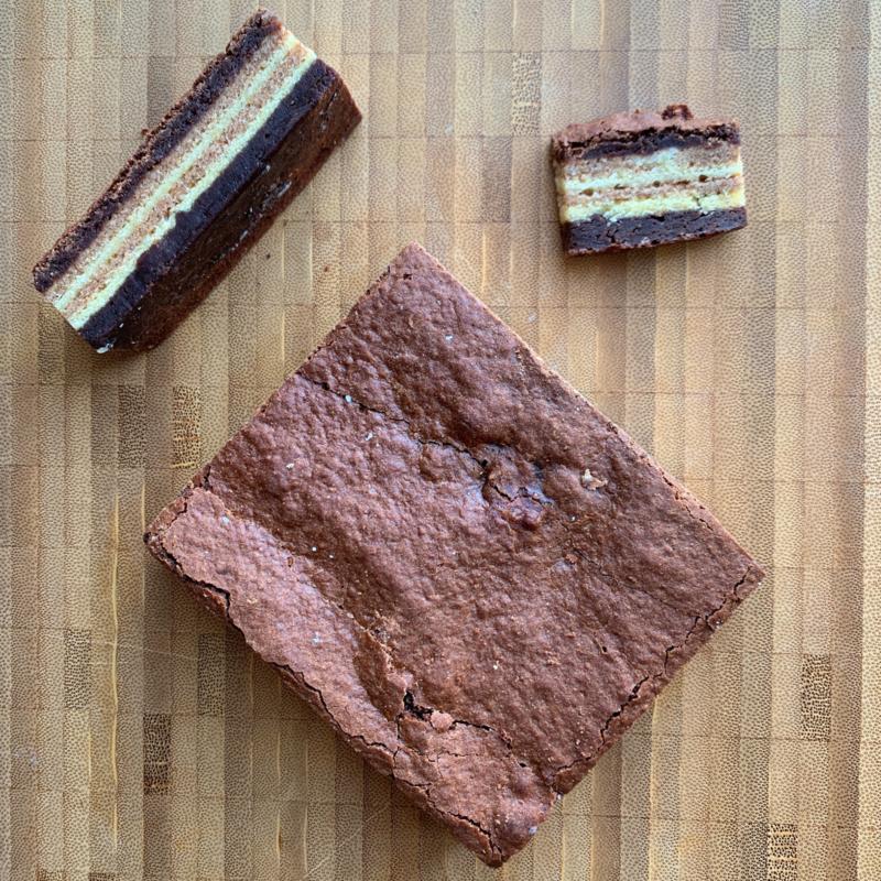 Spekkoek brownie