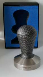 Tamper Competitie Carbon vlakke base 58,5 mm