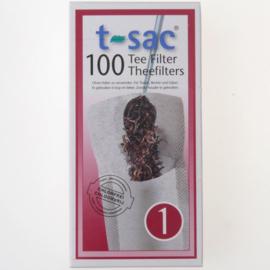 Theefilter T-sac nr 1