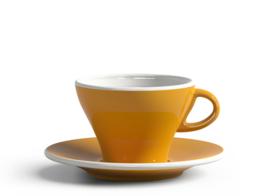 Clubhouse cappuccino kop en schotel
