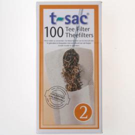 Theefilter T-sac nr 2