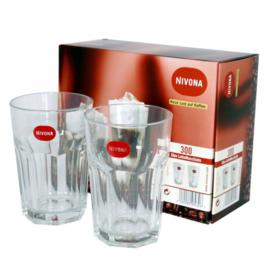 NIVONA set latte macchiato glazen
