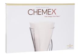 Chemex Filters Ongevouwen Halve Maan voor Chemex 3 kop