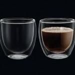 Cilio set-2 250 ml dubbelwandige glazen  Koffie/ Cappuccino