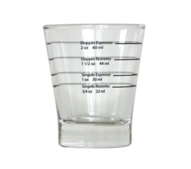 Espresso shot glas