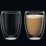 Cilio set-2 350 ml dubbelwandige glazen  Thee / latte macchiato