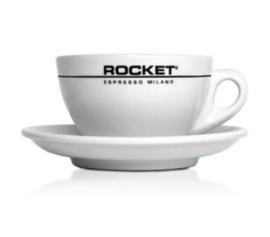 Rocket cappuccino kop en schotel
