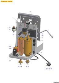 Tekening VBM Domobar Junior 2 Boilers