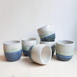 Koffie/thee bekers Crystal vibes design