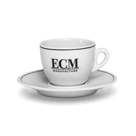 ECM Cappuccino Kop en Schotel