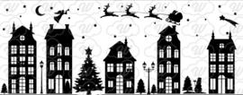 Raamstickers kerst- herbruikbaar