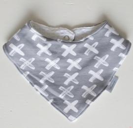 BIB Criss cross grijs