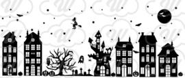 Raamstickers halloween- herbruikbaar